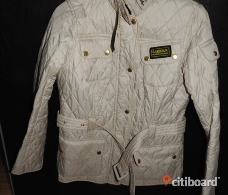 BARBOUR INTERNATIONAL QUILT JACKET, beige