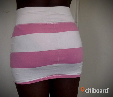 Short pink skirt from ginatricot