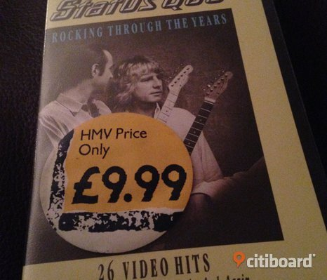 Rocking through the years med Status Quo