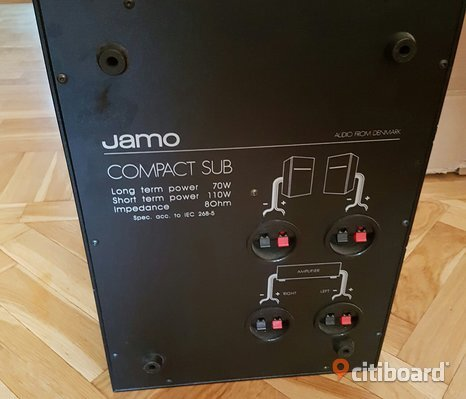 Compact subwoofer Jamo