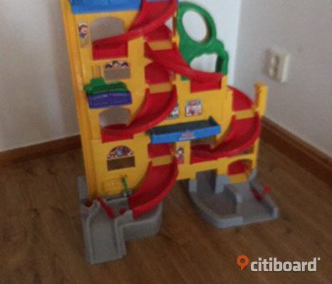 Bil bana/​garage fisher price