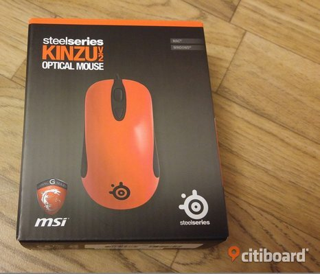 SteelSeries Kinzu v2 MSI Edition Gaming Mus