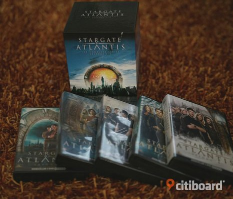 Stargate atlantid dvd box