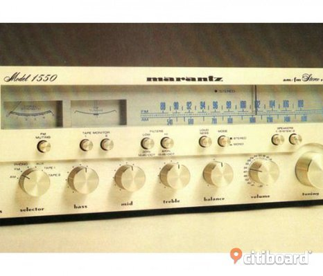 Marantz Model 1550 Am-Fm Stereo Receiver