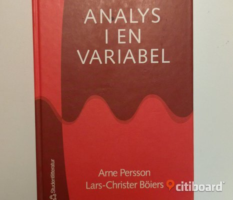 Analys i en variabel