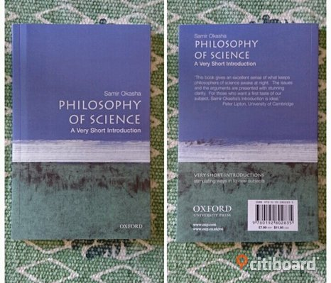 Philosophy of Science av Samir Okasha.