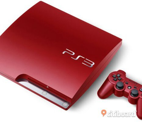 Ps3 slim limited edition red