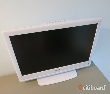 "22"" Wide Screen LCD TV med inbyggd DVD"