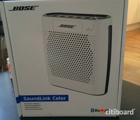 BOSE Soundlink Color Bluetooth Speaker Högtalare Blåtand Mobil Iphone Tablet