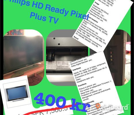 Philips HD Ready Pixel Plus tv
