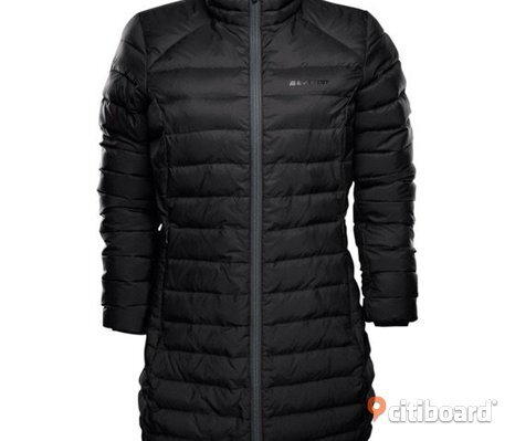 Everest light down jacket svart