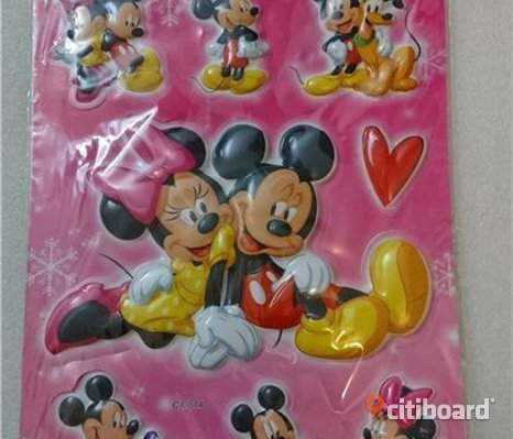 Musse & Mimmi pigg(Mickey & Minnie mouse) stickers