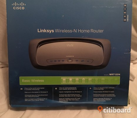 Cisco Wireless-N home router
