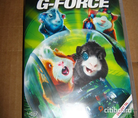 G-Force Disney DVD film