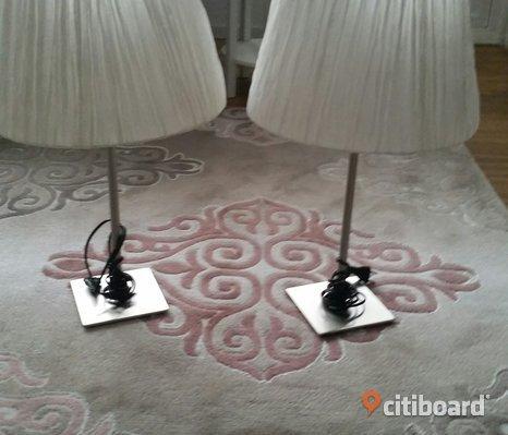 2 st lampor