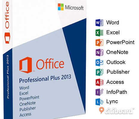 Office 2013 professional svensk DVD skiva plus aktiverings licens kod