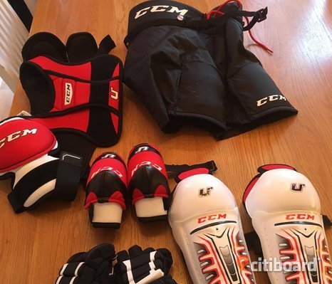 Startpaket Hockey, barn - Storlek Medium