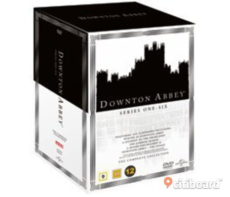 Ny! Downton Abbey dvd-Box  alla säsonger dvd Box