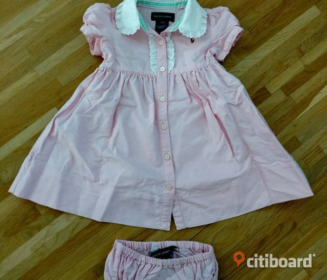 Ralph Lauren baby dress, size 12M