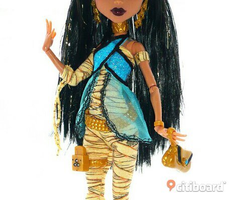 Monster high Cleo De Nile docka