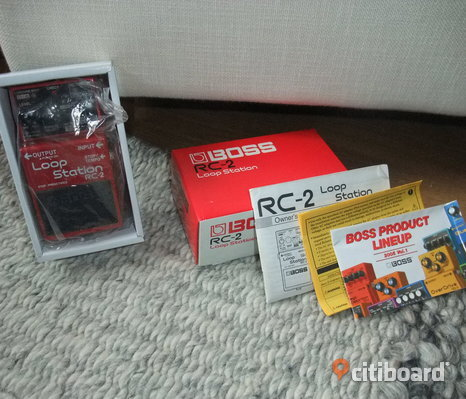 Boss Loop RC2 pedalen