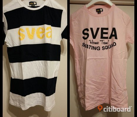 2 pack Svea t-shirts.