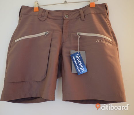 HOUDINI W's Gravity Light Cheroot Brown Shorts