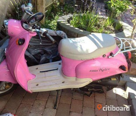 Rosa TMS Retro Moped Klass I