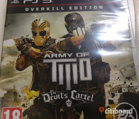 Army of two - Overkill Edition, inplastad PS3