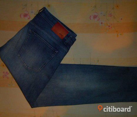 BOSS Hugo Boss Jeans Premium Denim Slim fit Strech Storlek 36