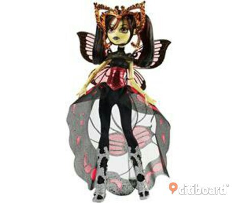 Monster high luna mothews docka ny