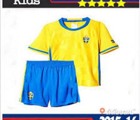 SVERIGE  #10  Zlatan Ibrahimovic Kid set