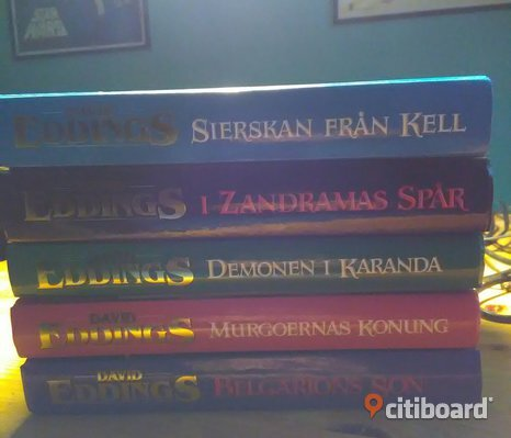 Sagan om Mallorea bok 1-5 av David Eddings