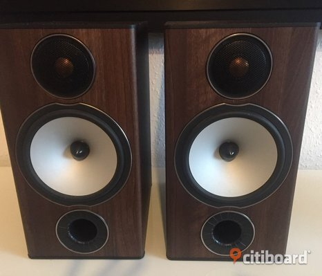 monitor audio bronze bx2 valnöt