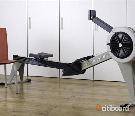 Concept 2 Model D Rower Machine - PM5 Gray (Helt ny)