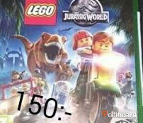 Xbox One Spel-Lego Jurassic Park World !!