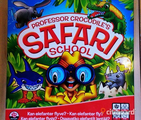 Spel, safari school