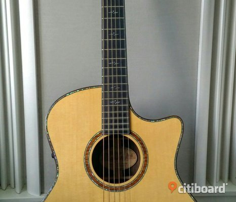 Crafter GLXE-4000/​RS/​N, Acoustic guitar, Solid German SP