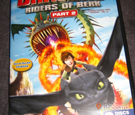 Dragons Riders of Berk Part 2  DVD Film