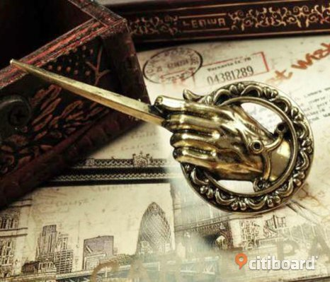 NY Game of Thrones GoT brosch pin Hand of the King