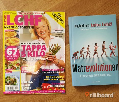 Matrevolutionen + LCHF magasin
