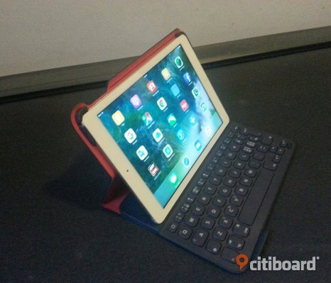 iPad air white with tang board