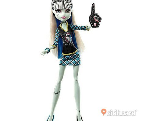 Monster high Frankie Stein docka