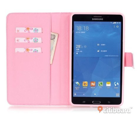 Magnetic Leather Flip Case Cover For Samsung Galaxy Tab4 T230