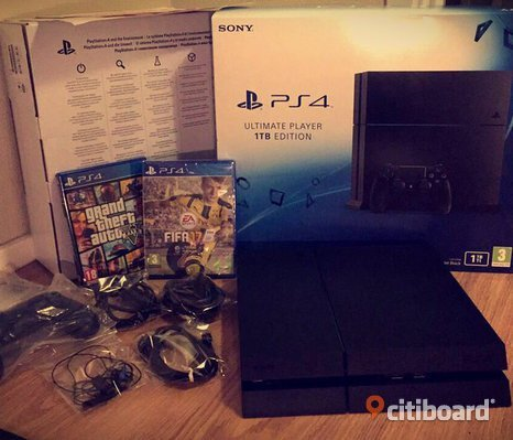 PS4 Ultimate Plater 1TB