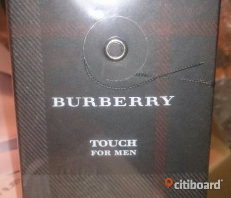Ny inplastad parfym Burberry Touch For Men
