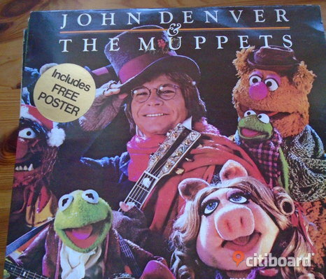 LP   Denver John & Muppets