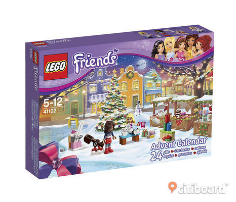 Adventskalender Julkalender Lego Friends & Lego City NYA
