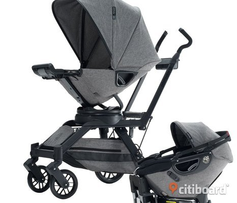 G2 /​ G3 Orbit Baby Travel komplett samling: