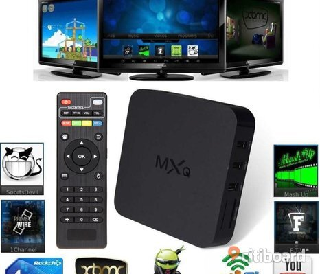 Android TV box Netflix/HBO XBMC, Miracast, AirPlay and DLNA.